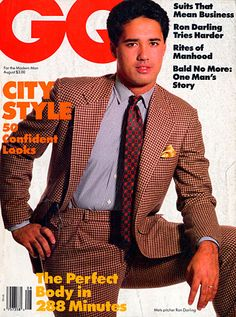 Ron Darling for GQ, August 1986 #mets