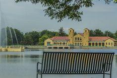 The City Park Pavilion #ColoradoWeddings #DenverVenues #HistoricVenues