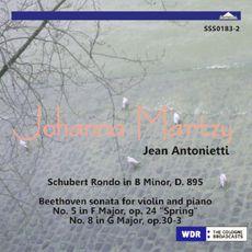 [알라딘][수입] 베토벤 : 바이올린 소나타 5번 '봄' , 소나타 8번 / 슈베르트 : 론도 D.895