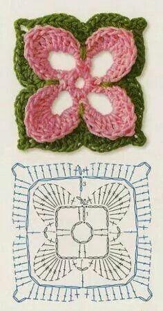 Flor com grafico