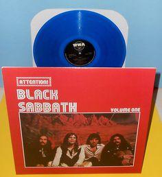 Sabbath attention forward black sabbath attention volume two lp record