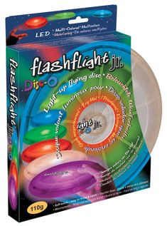 Flashlight Jr. LED Light Flying Disc