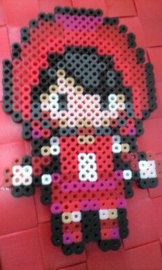 cute doll - hama beads