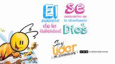 El secreto de la felicidad se encuentra en la obediencia a Dios. #soyliderdejovenes  www.soyliderdejovenes.org
