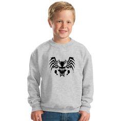 Symbiote Rorschach Kids Sweatshirt