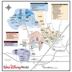 Walt Disney World Monorail Expansion Map. | Disney in 2019 | Disney ...