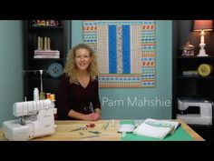 Take this online serger class with the creative Pam Mahshie over at Sew at Home Classes! You'll learn so many different, fun serger techniques while creating. Sewing School, Sewing Class, Serger Projects, Sewing Projects, Quilting Tutorials, Sewing Tutorials, Serger Patterns, Quilts Online, Serger Sewing