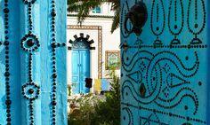 Sidi+Bou+Said,+un+pueblo+que+enamora+en+blanco+y+añil