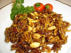 Tasty Indonesian Food - Sambal Goreng Teri