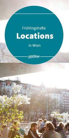 Wir haben für euch ein paar frühlingshafte Locations in Wien zusammengesucht. Die Sonne scheint, die müden Lebensgeister sind erwacht und die Vorfreude auf die wärmeren Jahreszeiten in unserer Lieblingsstadt sind groß. Europe, Ghosts, Seasons Of The Year, Travel Advice, Couple, Life