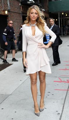 Love this dress on Blake Lively. I am a huge fan of her style!