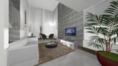 60 Painéis de Gesso 3D - Placas e Fotos Corporate Design, 3d Wall Panels, Wall Mount, Tiles, Bathtub, Furniture, Home Decor, Ceiling