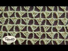 Crochet. Punto a ganchillo 10 - YouTube