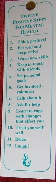 12 Steps to better mental health