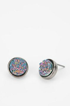 Druzy Stone Earrings lllllllllllllllllllllllll Urban Outfitters