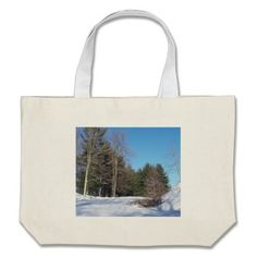 Snowy Landscape Canvas Bag!  There's a great selection of styles to choose from.  Starting around $22 this bag is very affordable!
