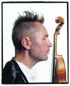 Nigel Kennedy. Born in 1956 in U.K. specially famous for his interpretations of his Antonio Vivaldi Four Seasons.