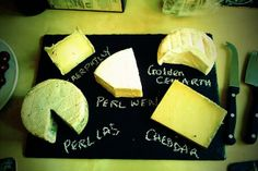 We can vouch for the deliciousness of Perl Wen and Perl Las. GORGEOUS. #wales #cheese
