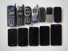 My personal timeline of mobile phones