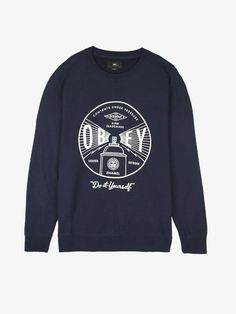 cfe4bab2 Under Pressure Premium Crew, Sweaters & Fleece - Obey Clothing UK Store -  Obey Mens Clothing, Obey Womens Clothing, Obey T shirts and all things  Shepard ...