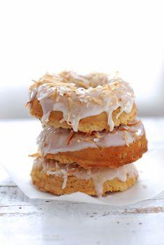 {Gluten Free Kitchen} Totally Coconut Donuts