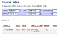 Ad Click Xpress - ACX paying all day and here is my payment Nr 115!NO SCAM HERE!!! THANKS ACX!! Here is my Withdrawal Proof from AdClickXpress.This is not a scam and I love making money online with Ad Click Xpress. AdClickXpress is the top choice for passive income seekers. Making my daily earnings is fun, and makes it a very profitable! I am getting paid daily at ACX and here is proof of my latest withdrawal.