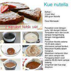 Kue Nutella