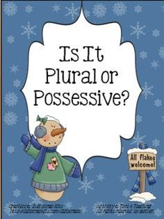 Is It Plural or Possessive?