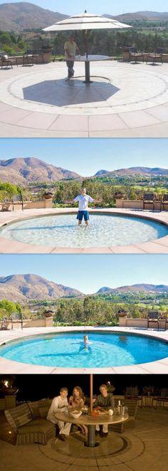 Innovative swimming pool