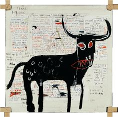 Basquiat train kk blind contour