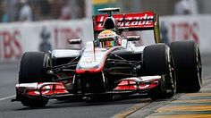 The most beautiful car in Formula 1 and the quickest in qualifying Australian GP 2012
