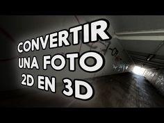 Convertir una foto 2D en una animación 3D con Photoshop - YouTube