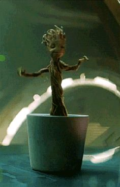 And we all wanted a dancing Baby Groot of our own. | Stop Everything Because Baby Groot Is Real