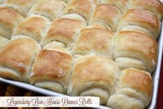 These Legendary Lion House Dinner Rolls are one of my favorite holiday roll recipes. #rolls #yeastbread #thanksgiving #holidays