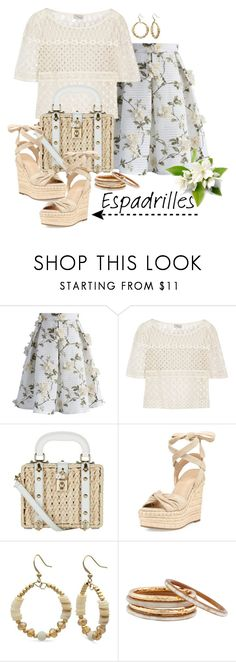 """""""Step Into Summer- ESPADRILLES"""" by aharcaki on Polyvore featuring Chicwish, Temperley London, Dolce&Gabbana, Kendall + Kylie, Kim Rogers and Nest"""