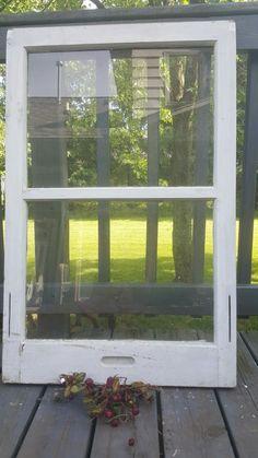 Old Window Frame, Two Pane Window, Glass Window, Wood Window, Farmhouse, Window, DIY Sign, Rustic, Wedding Sign, Window frame, Pane 0233