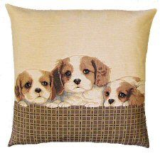 Cavalier King Charles Belgian Tapestry Dog Cushions http://www.abentleycushions.co.uk/detail.asp?pID=5120