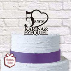 adorno para torta casamiento acrilico cake topper boda
