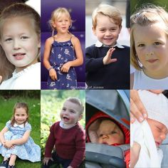 The Queen's 8 Great-Grandchildren and swipe for the parents❤ Royal Uk, Princesa Diana, Family Album, William Kate, Princess Charlotte, Lady Diana, Duchess Kate, Queen Elizabeth Ii, Royal Families