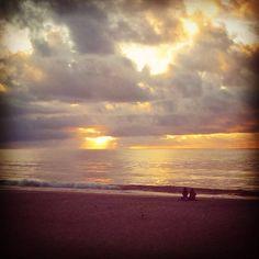 Sunrise! A new day dawns filled with endless possibilities.  #carolinabeachnc #beachlife #Prosperity #Abundance #timefreedom