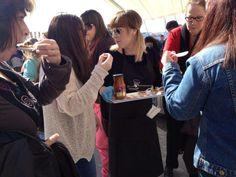 Nuestra degustación de platos calientes fue un éxito! www.tikkacompany.com