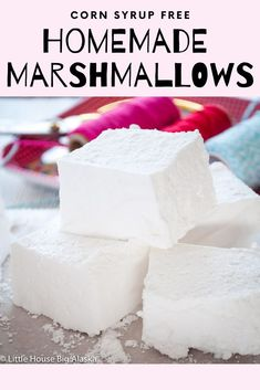 Personalized Graduation Gifts - Ideas To Pick Low Cost Graduation Offers A Homemade Marshmallow Recipe Made Without Corn Syrup. Theyre Soft And Pillowy, Perfect For Chocolate Covered Bite Or Dropped In A Cup Of Hot Cocoa. Marshmallow Recipe Without Corn Syrup, Recipes With Marshmallows, Homemade Marshmallows, Chocolate Marshmallows, Homemade Candies, Homemade Marshmellow Recipes, Homemade Corn Syrup Recipe, Hot Chocolate, Sweets
