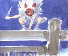 Hayao Miyazaki, Studio Ghibli Art, Studio Ghibli Movies, Totoro, Walt Disney, Anime Films, Concept Art, Character Design, Animation