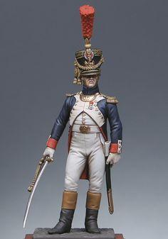 Garde impériale à pied : Officier de la jeune garde 1809