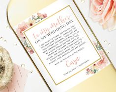 Mother Of The Bride Gift Wine Labels Wedding For Mom Thank You Custom To My On Day