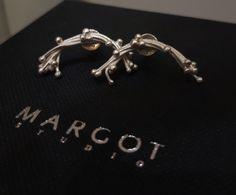 #kolczyki #srebro #biżuteriaartystyczna #margotstudio