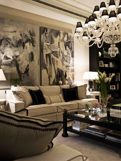 Luxury living room - Chiara Provasi