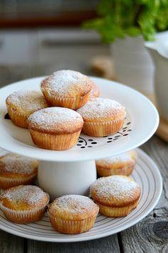 Marmelade - Muffins mit Frischkäsekern