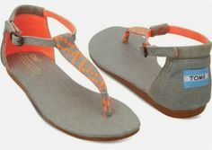 Comfortable casual open style toms fashion