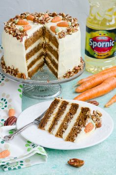 Jacque Pepin, Crazy Cakes, Food Cakes, Carrot Cake, Cheesecakes, Pecan, Tiramisu, Carrots, Cake Recipes